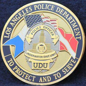 US LAPD Underwater Dive Unit