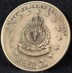 Vancouver Police Department VPD Silver 2