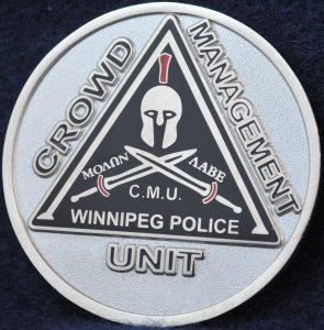 Winnipeg Police Service Crowd Management Unit 2