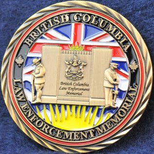 2015 British Columbia Law Enforcement Memorial Gold
