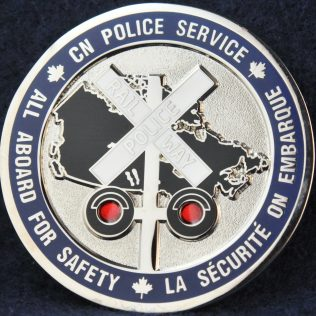 CN Police Service All Aboard For Safety
