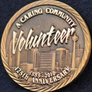 Calgary Police Volunteer 125th Anniversary