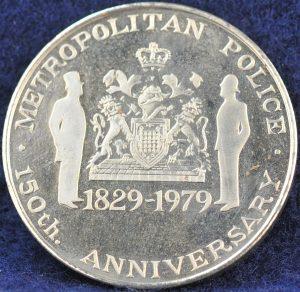 Metropolitan Police 1829-1979 150th Anniversary 2