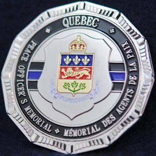 Peace Officer's Memorial Quebec