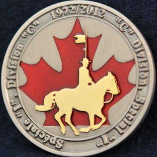 RCMP C Division Special I 1972-2012