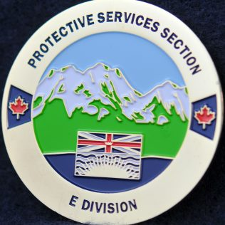 RCMP E Division Protective Services Section