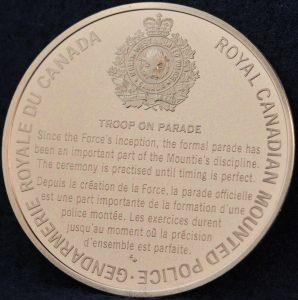 RCMP Troop on Parade