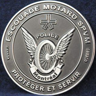 SPVM Escouade Motard