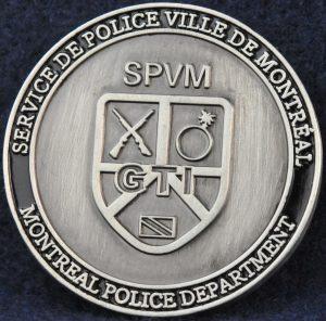 SPVM Groupe Tactique d'intervention 2