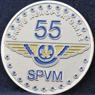 SPVM Unite Aeroportuaire 55