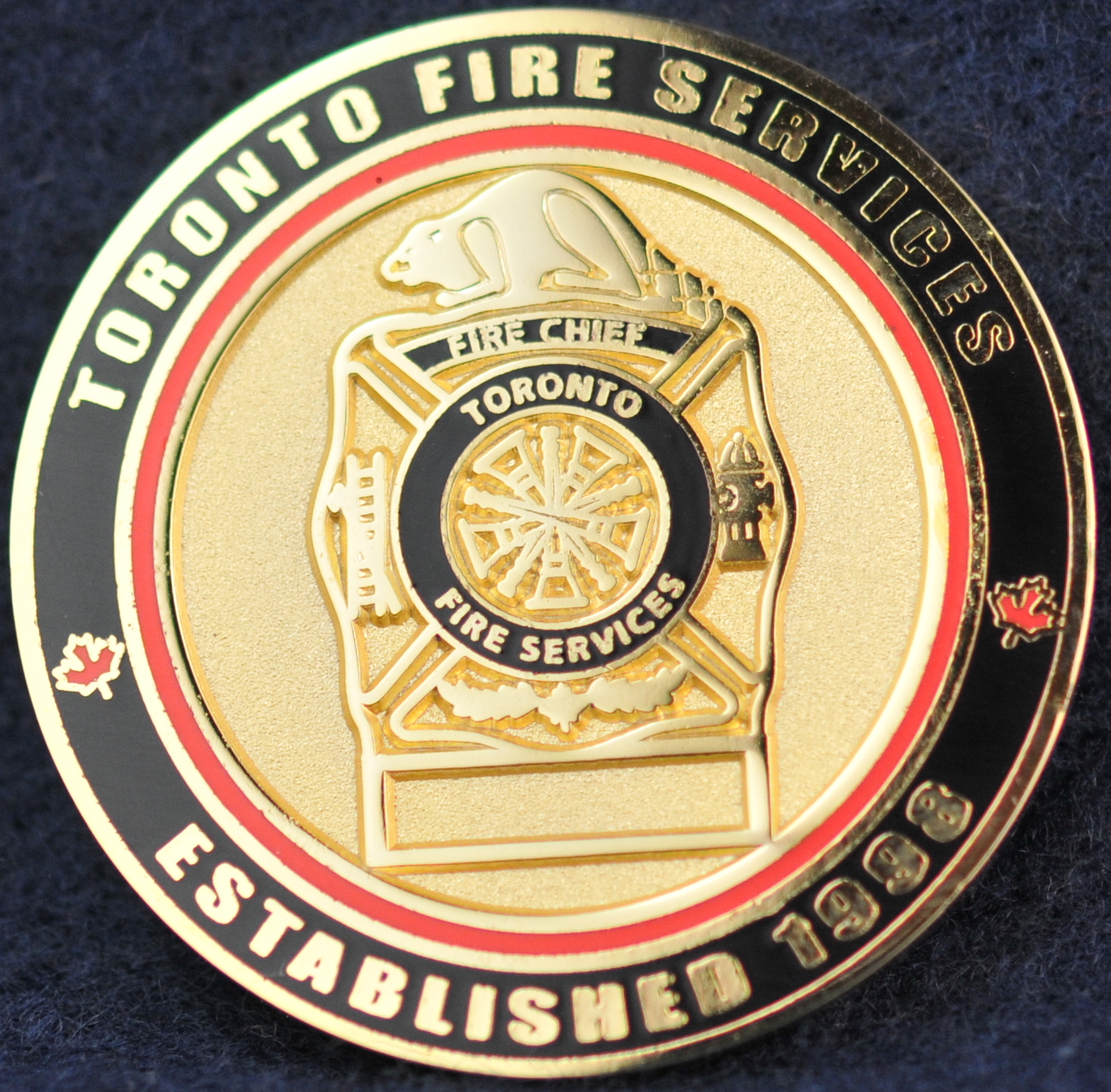 Toronto Fire Services Challengecoins Ca