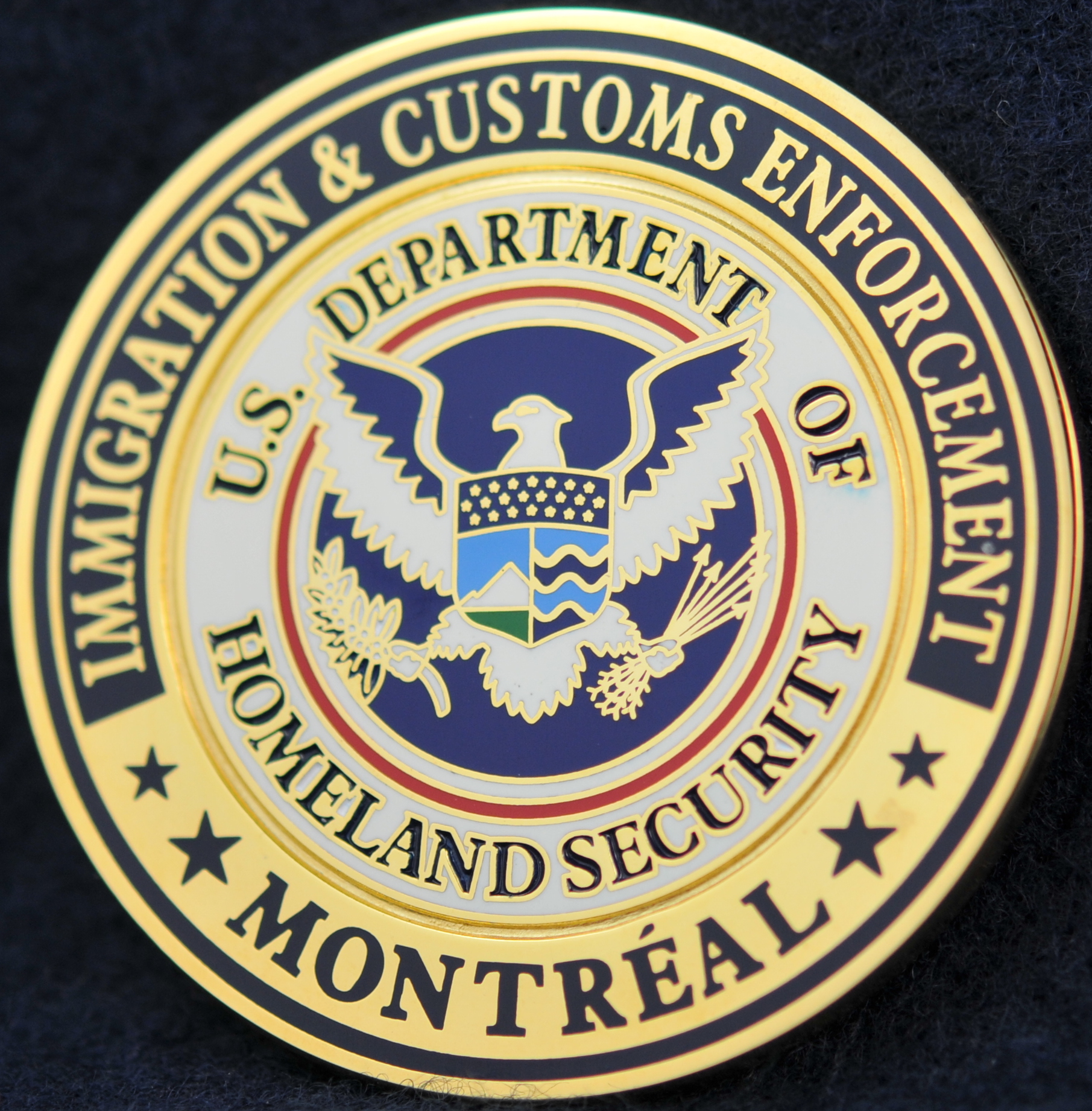 US Department of Homeland Security Montreal ...