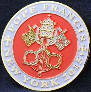 US New York Port Authority Police 2015 Pope Francis 2