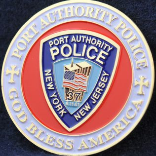 US New York Port Authority Police 2015 Pope Francis