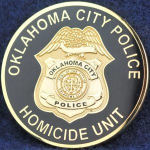 US Oklahoma City Police Homicide Unit