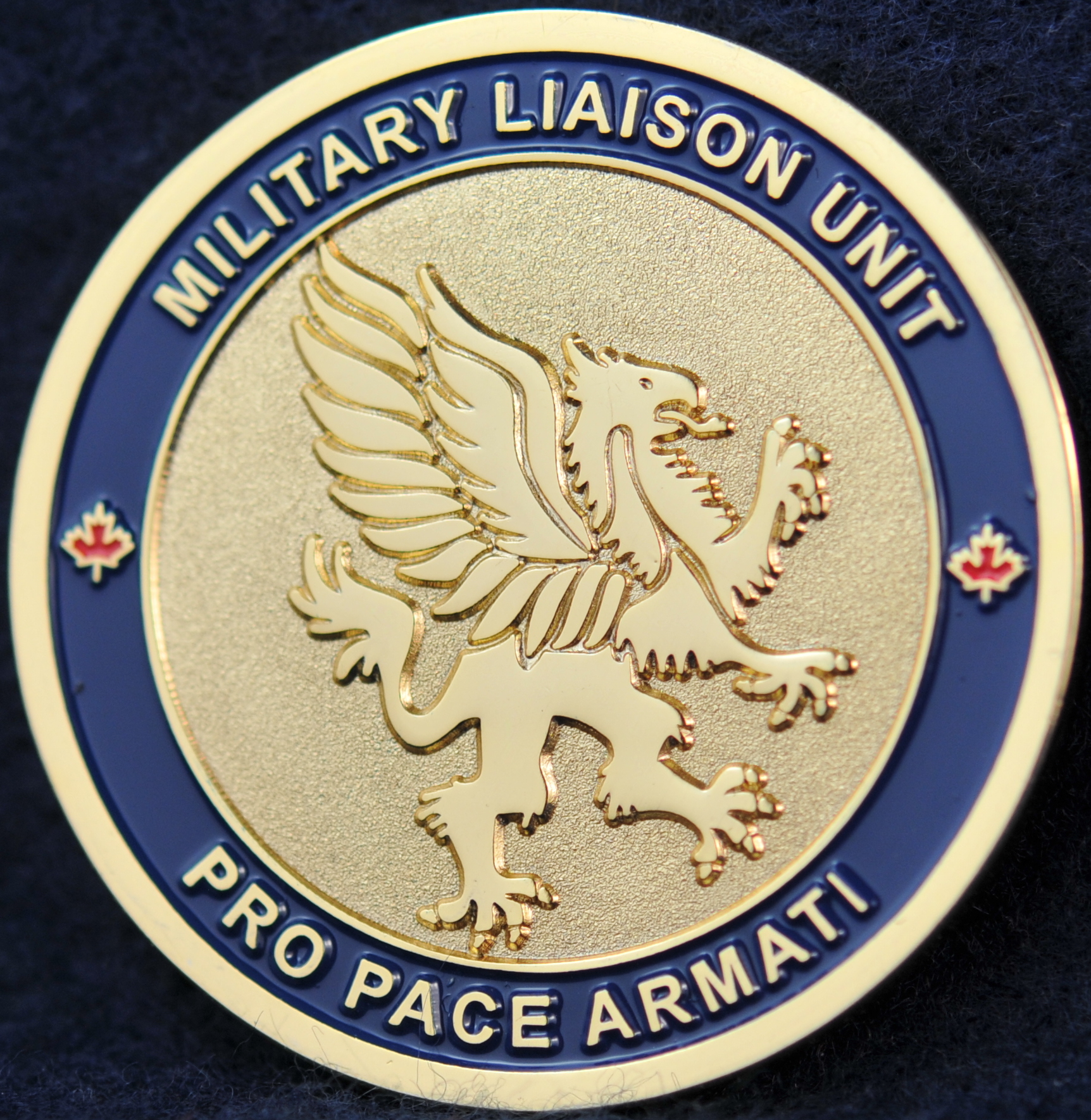 Vpd Military Liaison Challengecoins Ca