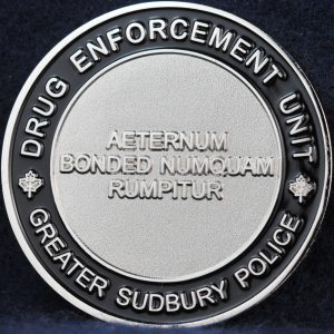 Greater Sudbury Police Drug Enforcement Unit