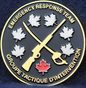 RCMP Critical Incident Program Emergency Response Team ERT 2