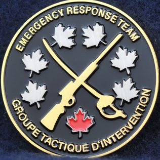 RCMP Critical Incident Program Emergency Response Team ERT