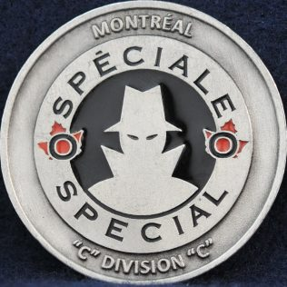RCMP C Division Special O Montreal