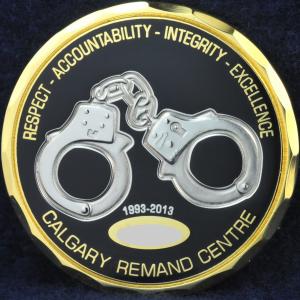 Alberta Correctional Services Calgary Remand Centre 1993-2013 2