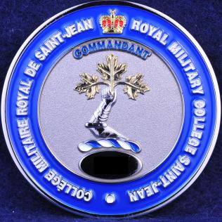 Collège Militaire Royal Saint-Jean Commandant