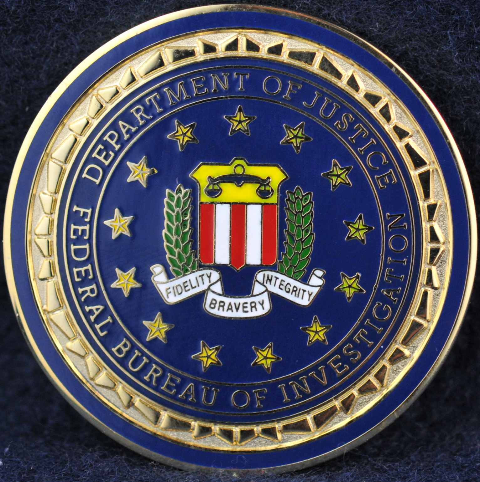 Federal Bureau Of Investigation Challengecoins Ca