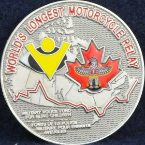 Military Police National Motorcycle Relay Ride 2