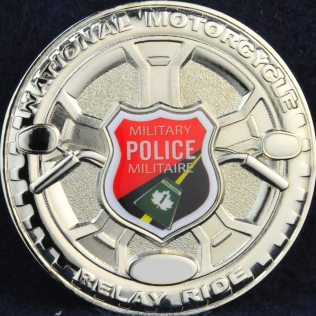 Military Police National Motorcycle Relay Ride