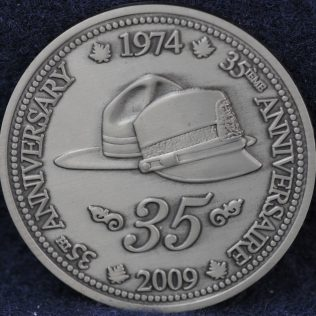 RCMP 35th Female Anniversary 1974-2009