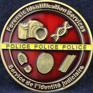 RCMP Forensic Identification Services Gold