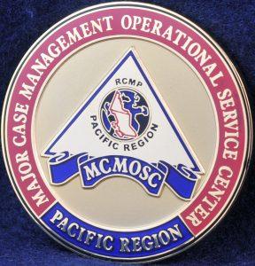 RCMP Major Case Management Operational Service Center 2
