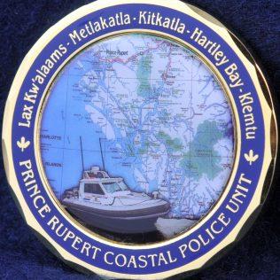 RCMP E Division Prince Rupert Coastal Police Unit