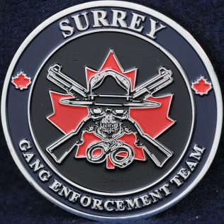 RCMP Surrey Gang Enforcement Team