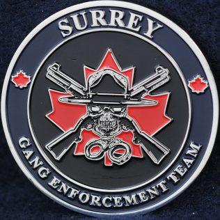 RCMP E Division Surrey Gang Enforcement Team