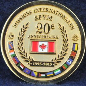 SPVM Missions Internationales 20e anniversaire 2