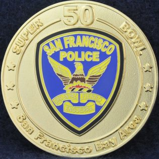 San Francisco Police 50th Super Bowl
