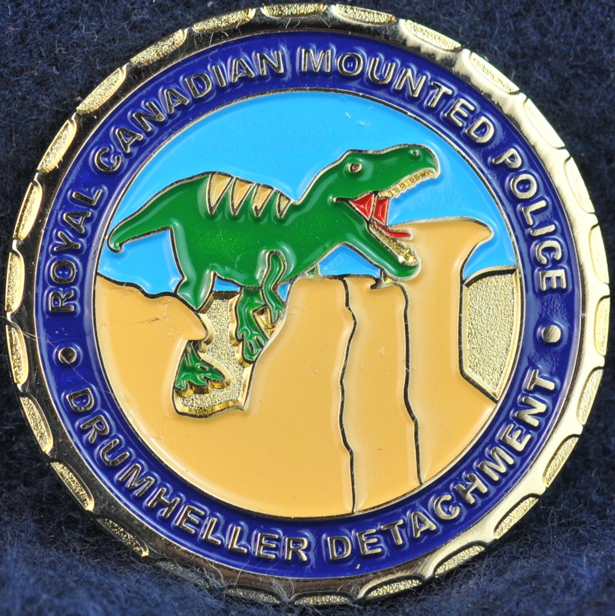 Rcmp Drumheller Detachment Challengecoins Ca
