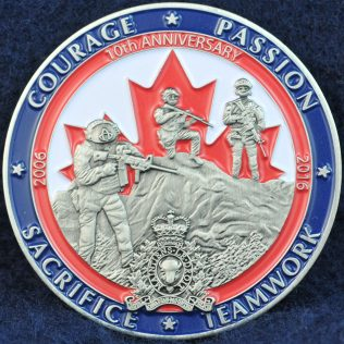 RCMP E Division Emergency Response Team Lower Mainland 10th anniversary