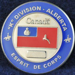 RCMP K Division Esprit de Corps