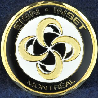 RCMP C Division Montreal INSET Gold