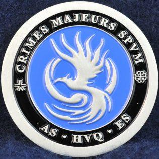 SPVM Crimes Majeurs - Major Crime