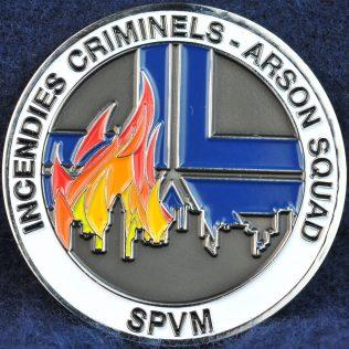 SPVM Incendies Criminels - Arson Squad