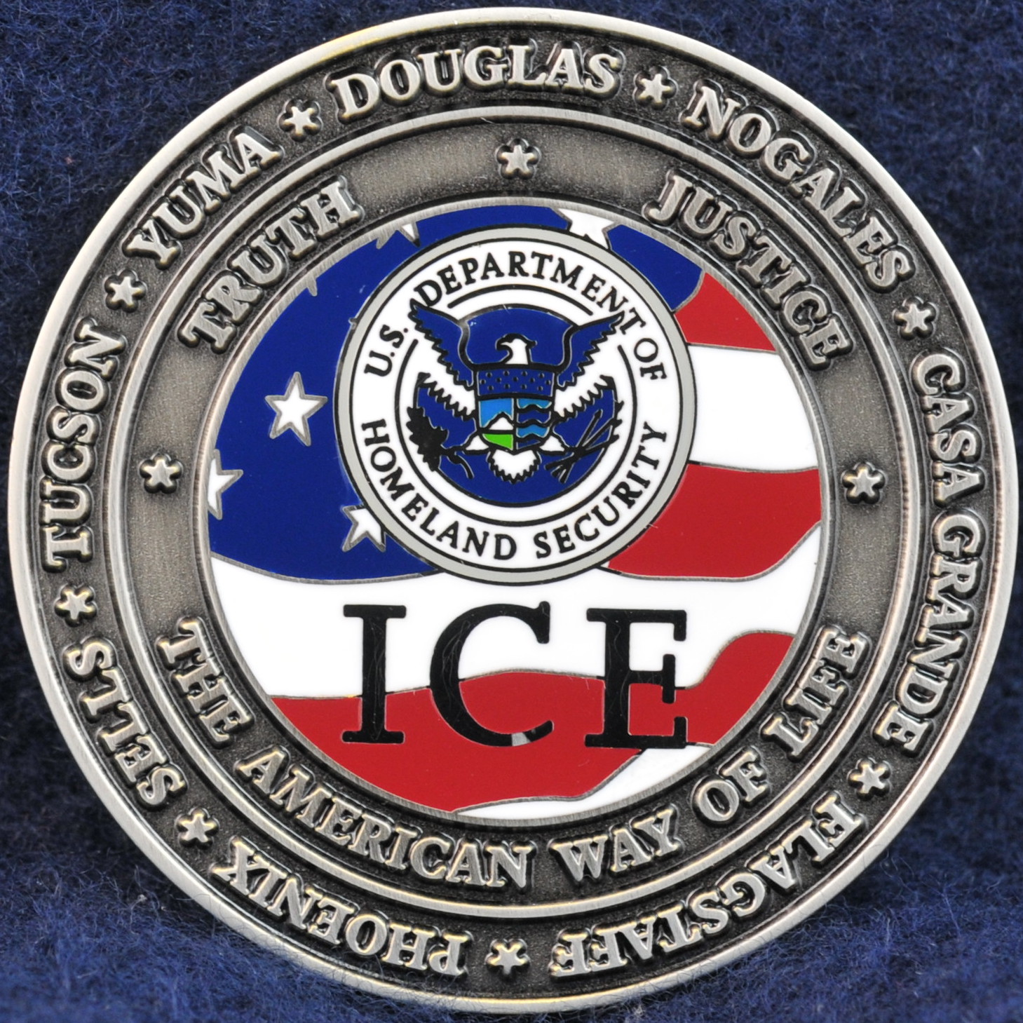 Us homeland security investigations arizona challengecoins us homeland security investigations arizona 2 buycottarizona