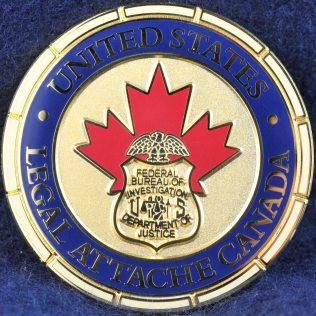 US Legal Attache Canada