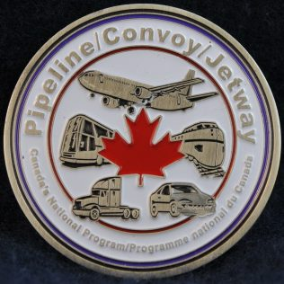 RCMP E Division Pipeline Convoy Jetway