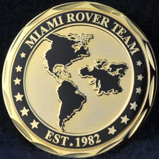 US HSI Miami Rover Team  old coin