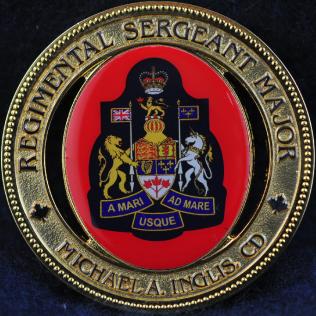 Calgary Police Service Regimental Sergeant Major