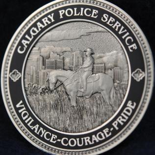 Calgary Police Service Vigilance Courage Pride