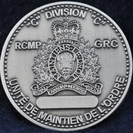 RCMP Tactical Troop C Division